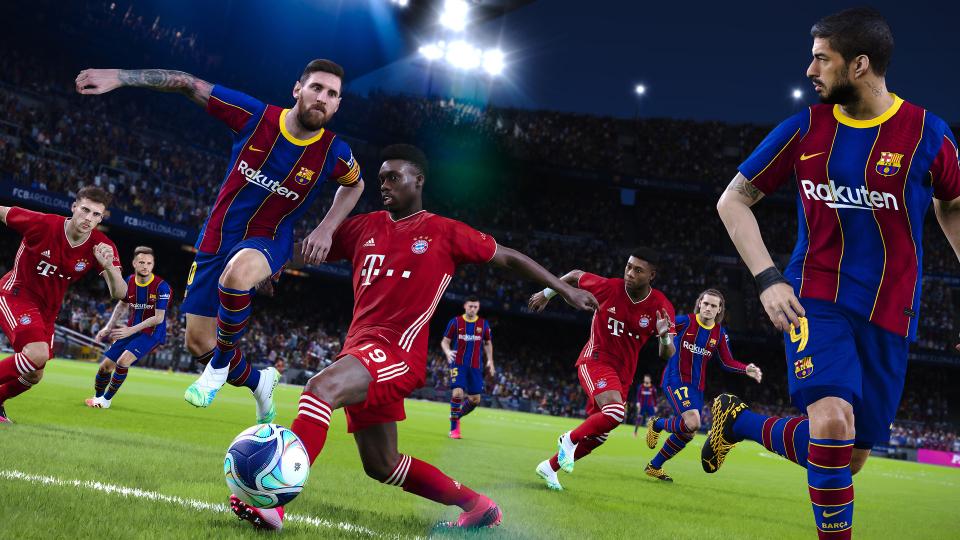 اکانت قانونی بازی PES 2021