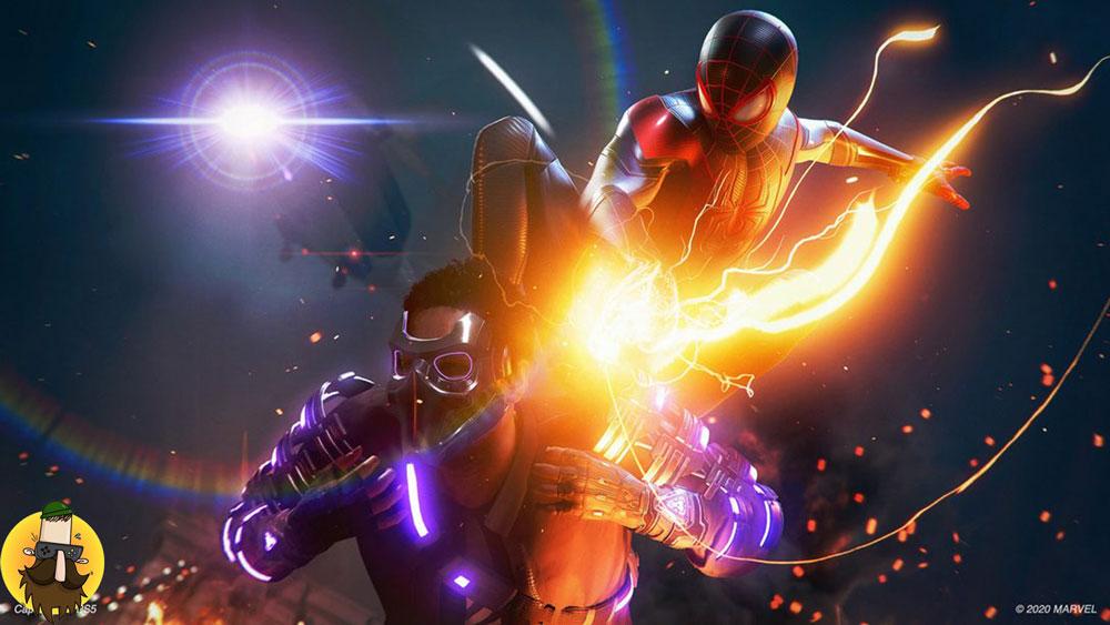 اکانت قانونی بازی Spider Man Miles Morales