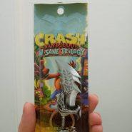 گردنبند طرح crash bandicoot