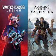 اکانت قانونی Watch Dogs Legion به همراه اکانت قانونی Assassins Creed Valhalla