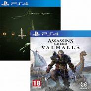 خرید اکانت قانونی Assassins Creed Valhalla به همراه اکانت قانونی OutLast 2