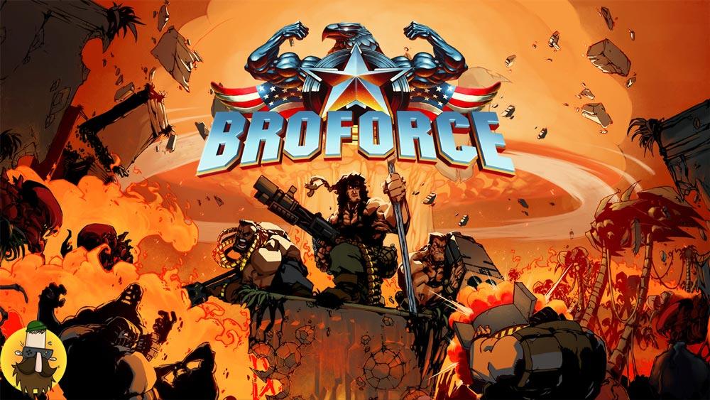 بازی Broforce