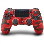 دسته PS4 قرمز ارتشی DualShock 4 Red Camo