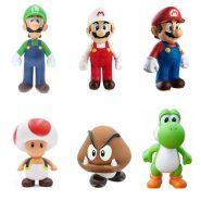 عروسک POP! – خرید اکشن فیگور مجموعه سوپر ماریو – شش قطعه