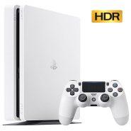 پلی استیشن 4 اسلیم سفید 500 گیگابایت PlayStation 4