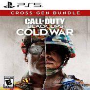اکانت قانونی بازی Call of duty blackops coldwar برای PS5 | ظرفیت دو