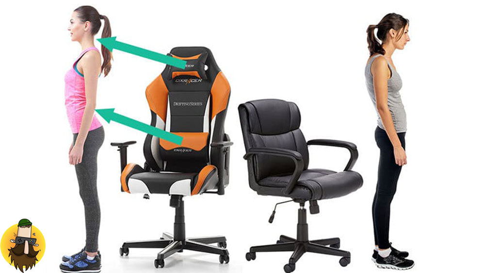 ارگونومیک بودن صندلیهای دی ایکس ریسر