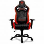 صندلی گیمینگ کوگار رنگ قرمز مشکی | Gaming Chair Cougar Armor-S