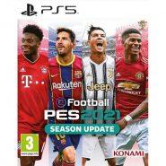 اکانت قانونی بازی Pes2021 برای PS5 | ظرفیت دو