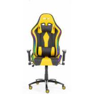 صندلی گیمینگ بلیتزد زرد چراغ دار BLITZED Gaming Chair Yellow RGB