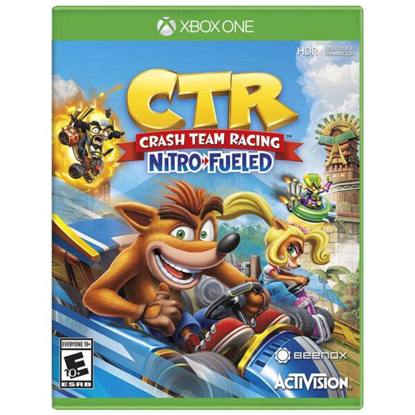 دیسک بازی Crash Team Racing Nitro-Fueled | مخصوص Xbox One