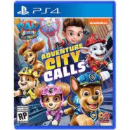 نسخه فیزیکی بازی Paw Patrol The Movie: Adventure City Calls | مخصوص PS4