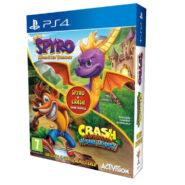 نسخه فیزیکی بازی Spyro Reignited Trilogy و بازی Crash N.Sane Trilogy | مخصوص PS4