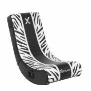 صندلی گیمینگ X Rocker | مدل Animal Rocker 2.0 Bluetooth – Zebra