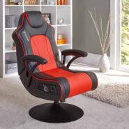صندلی گیمینگ X Rocker قرمز | NEW! Torque+ 2.1 Dual Gaming Chair – Red