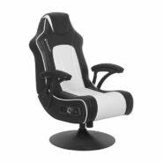 صندلی گیمینگ X Rocker سفید | NEW! Torque+ 2.1 Dual Gaming Chair – White